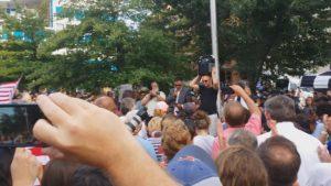 Faisal Durham vigil