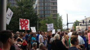 Durham vigil