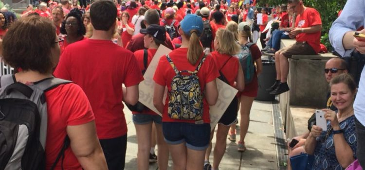 North Carolina Teachers Rally