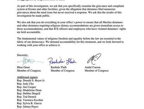 Religious Oppression At Miami ICE Facility
